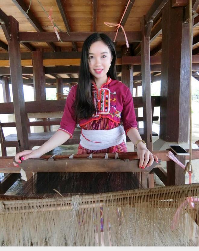 Thiếu nữ Lào xinh đẹp giỏi tiếng Việt, ước mơ làm bác sĩ-2