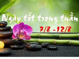 Tử vi tuần 7/8 - 12/8: Muốn làm việc lớn, cứ chọn 3 ngày này để thiên thời, địa lợi, nhân hòa