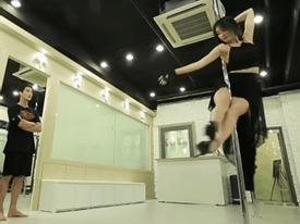 Fan há hốc mồm trước màn múa cột điêu luyện của Jiyeon nhóm T-ara
