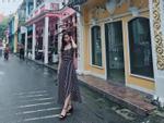Hoa hậu Mỹ Linh trổ tài mặc đẹp ở Thái Lan khiến fan mát mặt