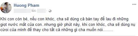 Hoa hậu Phạm Hương suy sụp, nhập viện truyền nước sau đám tang bố-4