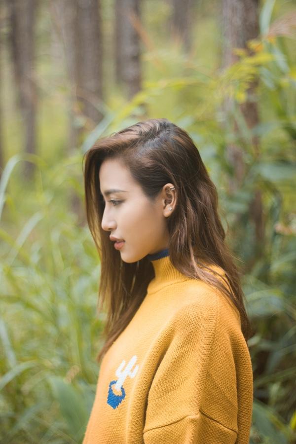 Phan Ngân The Face tung clip cover hoành tráng 'Cô gái đến từ hôm qua'-4