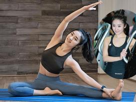 Chân dung cô giáo dạy yoga mặt xinh, dáng chuẩn hút mắt người nhìn