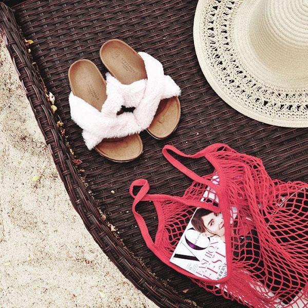 Túi đựng hoa quả của các mẹ bỗng chốc lên đời thành phụ kiện hot hè 2017-7