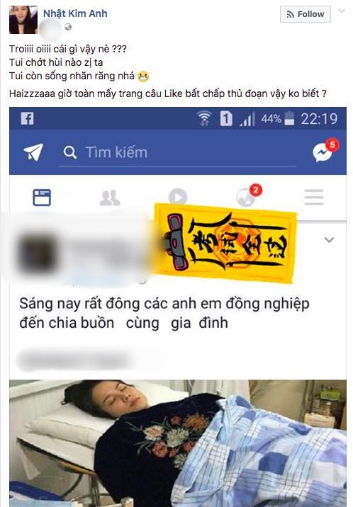 Nhật Kim Anh bức xúc lên tiếng sau khi bị kẻ gian ác ý tung tin đã qua đời-2