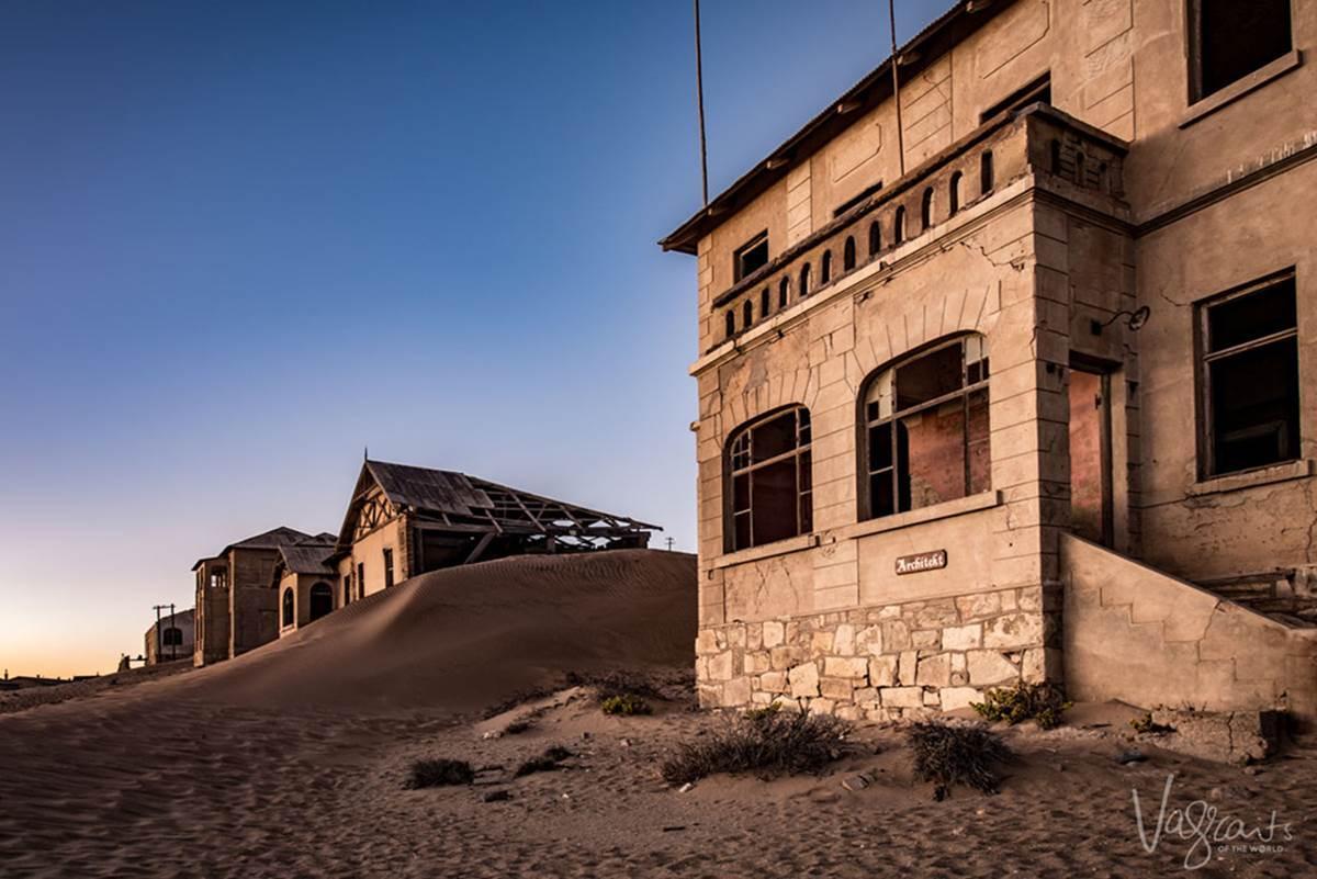 Vẻ kỳ bí của thị trấn bỏ hoang bị sa mạc nuốt chửng-3