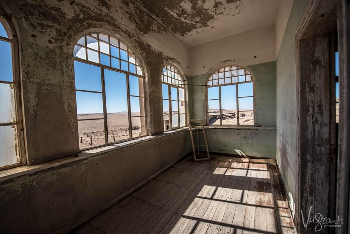 Vẻ kỳ bí của thị trấn bỏ hoang bị sa mạc nuốt chửng-6