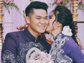 Đám cưới diễn viên Lê Phương tại Trà Vinh ngập trong sắc tím