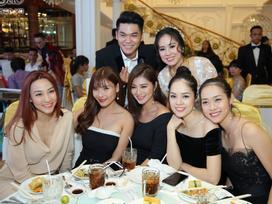 Ngân Khánh từ Singapore về nước sớm dự đám cưới Lê Phương