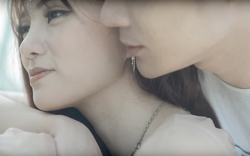 Dầm mưa và khóc nhiều giờ liên tục, Thu Thủy suýt ngất khi quay MV mới-1