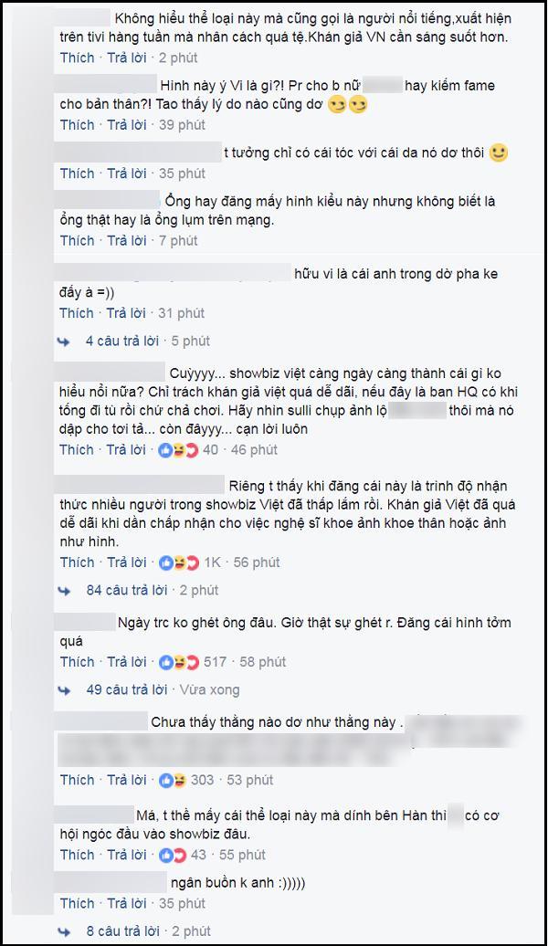 Hữu Vi gây shock khi công khai ảnh 'giường chiếu thô bạo' lên mạng xã hội-3