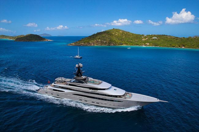 Hé lộ giá thuê những du thuyền xa xỉ nhất thế giới-5