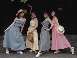 Bộ váy này đang được con gái Việt diện suốt trên Instagram, chứng tỏ gingham là hot trend 'phá đảo' hè 2017