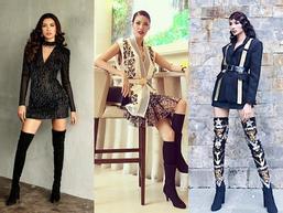 Vì thời trang mà Hoàng Thùy - Minh Tú - Lan Khuê quên hết thời tiết