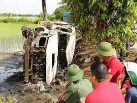 Bắt 3 kẻ cầm đầu vụ đốt xe giám đốc vì nghi bắt cóc trẻ em