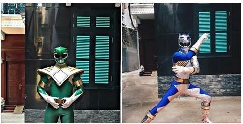 9X Lào Cai tự thiết kế trang phục siêu nhân vì quá thích-1