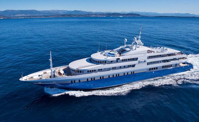Hé lộ giá thuê những du thuyền xa xỉ nhất thế giới-1