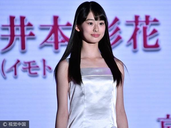 Ghen tỵ trước nhan sắc của cô nàng 14 tuổi xinh đẹp nhất Nhật Bản-2