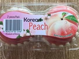 Đắt gấp 5 lần đào ta nhưng loại quả nhập khẩu từ Hàn này vẫn hút khách Việt đặt mua vì quá NGON - SẠCH - LẠ