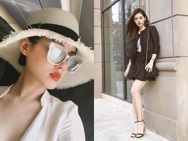 Mới 22 tuổi, Khánh Linh 'The Face' đã có tủ đồ hiệu chẳng kém các đàn chị showbiz