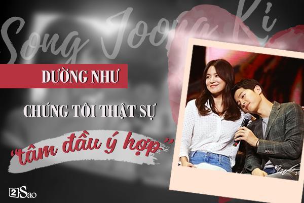 Đâu chỉ có Huỳnh Hiểu Minh là soái ca, Song Joong Ki còn ngọt ngào và ướt át gấp ngàn lần hơn-1