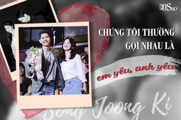 Đâu chỉ có Huỳnh Hiểu Minh là soái ca, Song Joong Ki còn ngọt ngào và ướt át gấp ngàn lần hơn-5