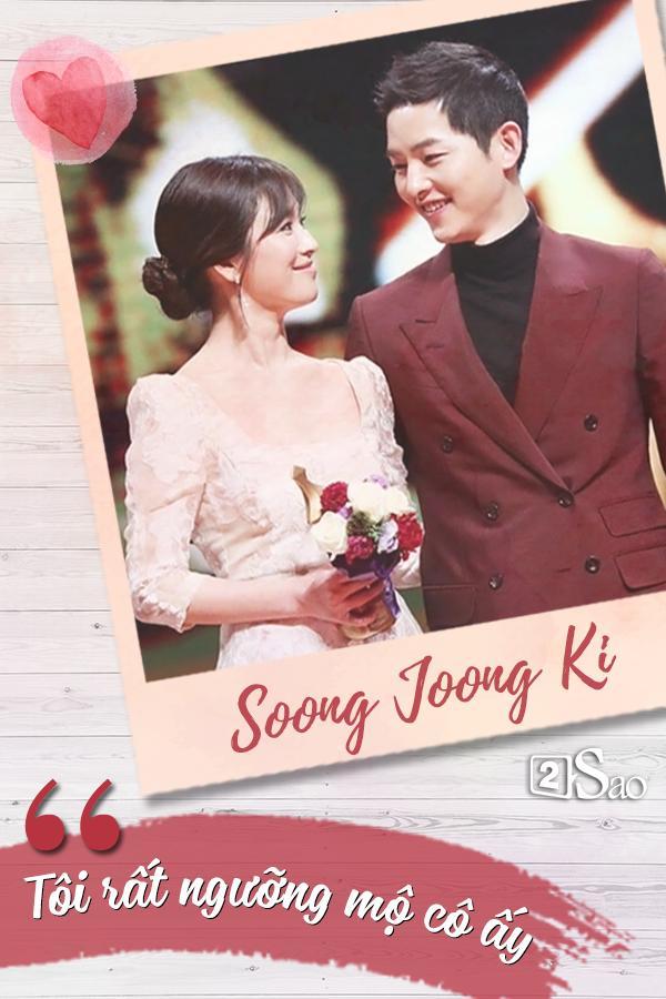 Đâu chỉ có Huỳnh Hiểu Minh là soái ca, Song Joong Ki còn ngọt ngào và ướt át gấp ngàn lần hơn-6