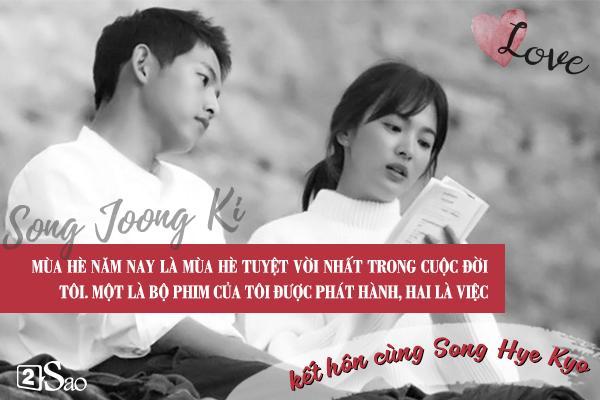 Đâu chỉ có Huỳnh Hiểu Minh là soái ca, Song Joong Ki còn ngọt ngào và ướt át gấp ngàn lần hơn-8