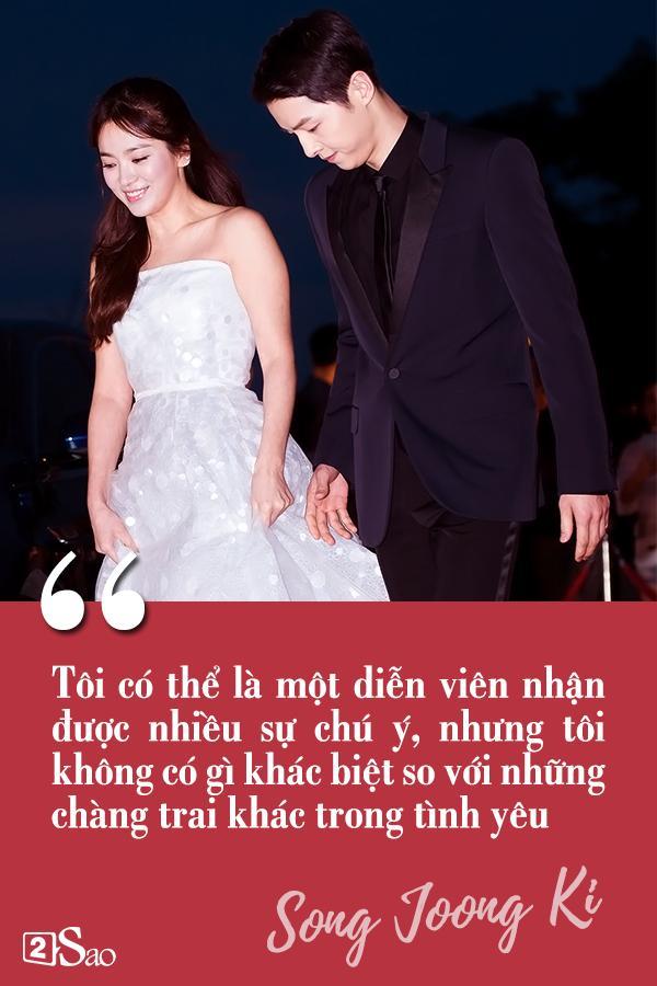 Đâu chỉ có Huỳnh Hiểu Minh là soái ca, Song Joong Ki còn ngọt ngào và ướt át gấp ngàn lần hơn-9