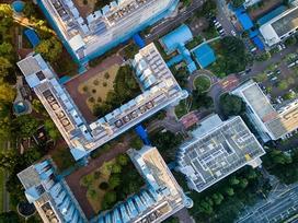 Quy hoạch của Singapore nhìn từ trên cao