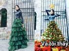 Dù bị ví là cây thông Noel, Hoàng Thùy vẫn được khen tới tấp nhờ mặc đẹp trong The Face tập 10