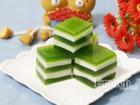 Chiều oi bức, làm thạch sữa dừa trà xanh ngọt mát thưởng thức thôi!