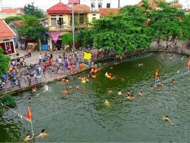 'Công viên nước' miễn phí độc đáo nhất ngoại thành Hà Nội