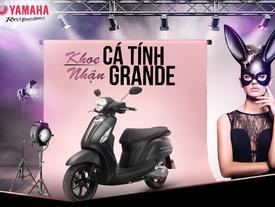Khoe phong cách Ariana Grande, rinh xe Yamaha Grande