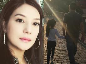 Những bức ảnh giản dị nhưng đong đầy hạnh phúc của tổ ấm Triệu Vy - Huỳnh Hữu Long