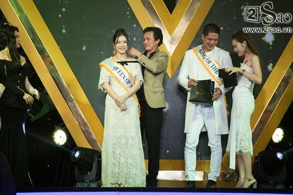 Lý Nhã Kỳ diện lại váy 2 tỷ đồng đến chúc mừng Nguyên Vũ-8