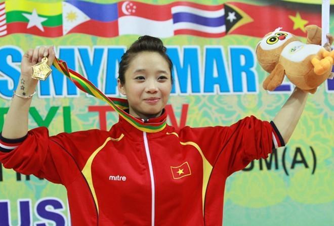 Điểm danh các 'cơn lốc sắc đẹp' của tuyển SEA Games Việt Nam-7