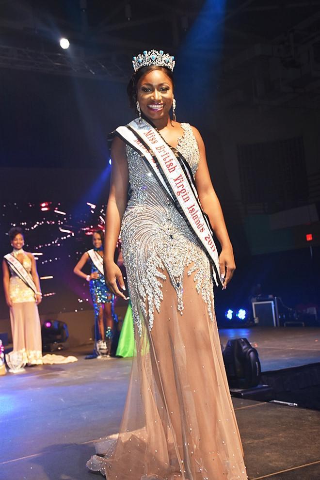 Hoa hậu Quần đảo Virgin 2017 bị chê thảm họa-1