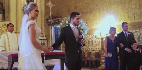 Câu chuyện cảm động đằng sau việc chú rể hát tặng cô dâu bằng tiếng Bồ Đào Nha trong lễ cưới-2