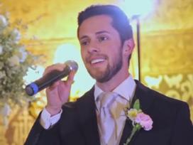 Câu chuyện cảm động đằng sau việc chú rể hát tặng cô dâu bằng tiếng Bồ Đào Nha trong lễ cưới