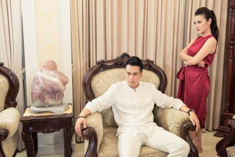 Việt Anh điển trai đóng vai chồng MC Thùy Linh-1