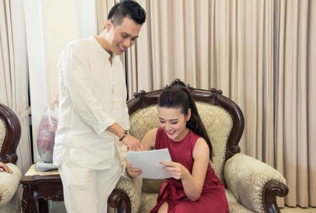 Việt Anh điển trai đóng vai chồng MC Thùy Linh-5