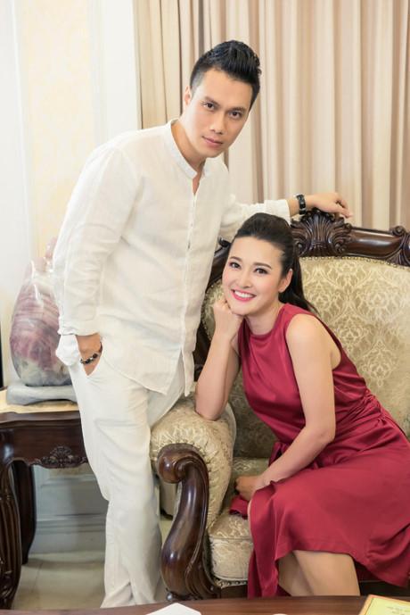 Việt Anh điển trai đóng vai chồng MC Thùy Linh-6