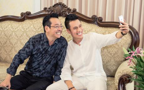 Việt Anh điển trai đóng vai chồng MC Thùy Linh-7