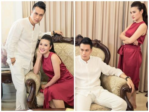 Việt Anh điển trai đóng vai chồng MC Thùy Linh