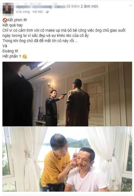 Lộ hình ảnh cực hot của 'Người phán xử': Phan Quân chĩa súng bắn Lương Bổng-2