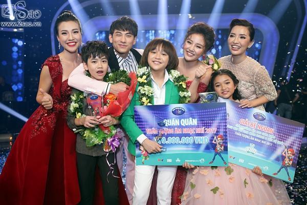 Cậu bé được Isaac gọi là thần đồng âm nhạc chính thức lên ngôi Quán quân 'Vietnam Idol Kids'-2