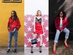 Diện nguyên cây xanh đỏ lòe loẹt, Châu Bùi - Khánh Linh mix đồ street style đẹp xuất sắc-12