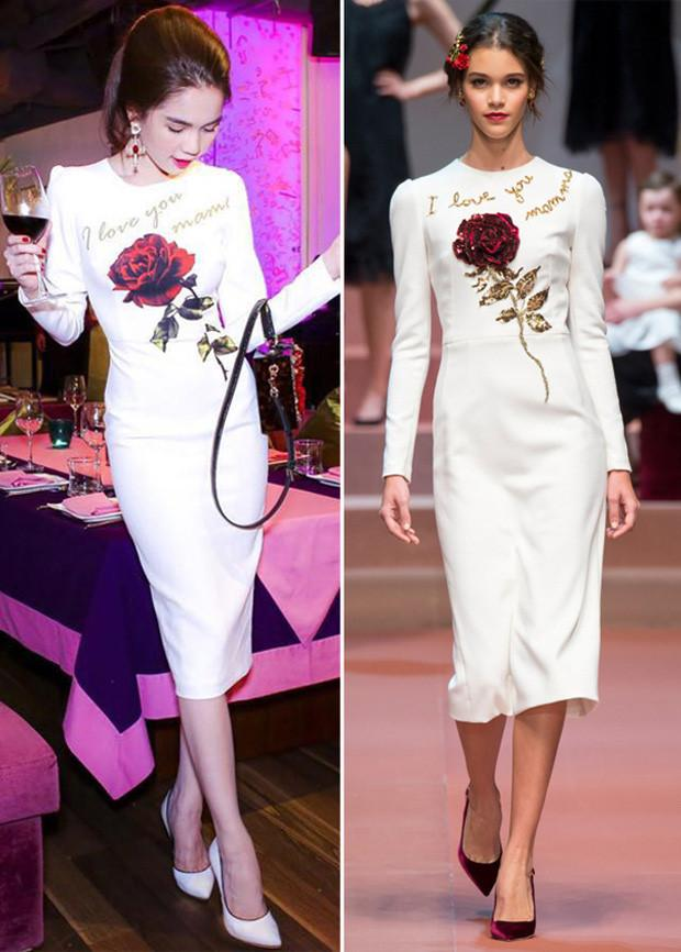 Ngọc Trinh và những lần diện váy nhái từ nhà mốt quốc tế-8