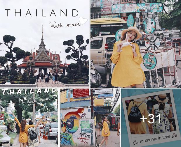 Xem bộ ảnh 9x đưa mẹ vi vu Thái Lan mới thấy mẹ cũng thích đi, thích sống ảo như ai-1